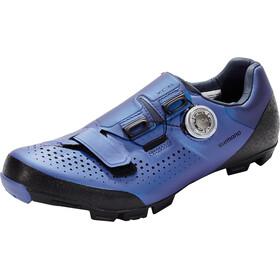 Shimano SH-XC5 Bike Shoes Wide Men blue